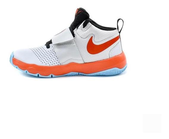 Tenis Nike Team Hustle - Multicolor - Niños - Ar0263-001