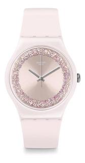 Reloj Swatch Pinksparkles Suop110 | Original Envío Gratis