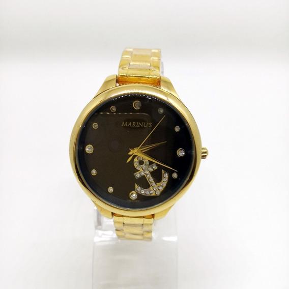 Relógio Feminino Marinus Dourado