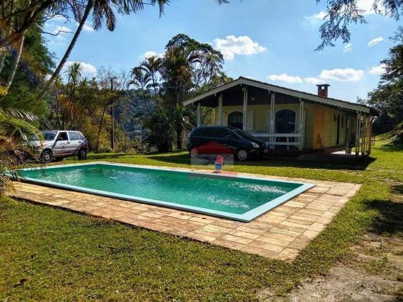 Sítio Com 3 Dormitórios À Venda, 24200 M² Por R$ 395.000 - Ponte Lavrada - São Roque/sp - Si0098