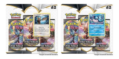 Pokémon - 2 Triple Pack Ee2 Rixa Rebelde