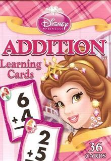 Disney Princess Addition Learning / Tarjetas Flash (lite Pin