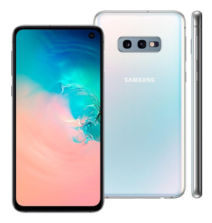 Smartphone Samsung Galaxy S10e G970f 128gb 6gb Ram Branco