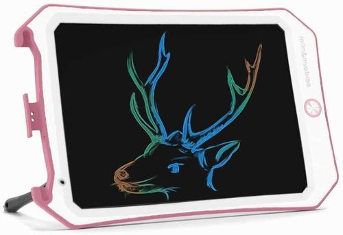 Imagen 1 de 6 de Pizarra Magica De Dibujo Niños Lcd Color Spring 10  Bla/rosa