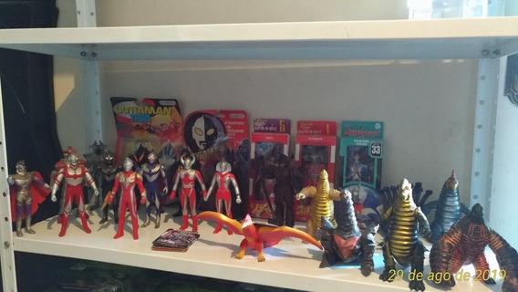 Vendo Cada Boneco Ultraman Pelo Preço Anunciado Unid. Bandai