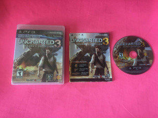 Uncharted 3 Drakes Deception Ps3 (game Army)