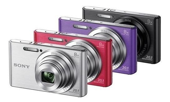 Câmera Digital Sony Cyber-shot Dsc-w830 8x 20.1mp Sem Juros