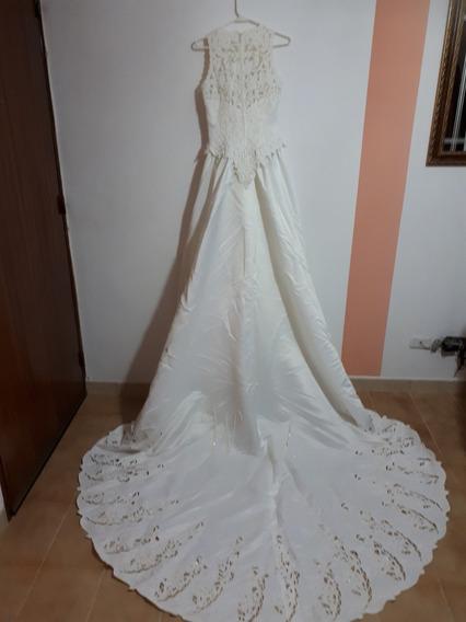Hermoso Vestido De Novia Traido De Eeuu Talla S(love White)
