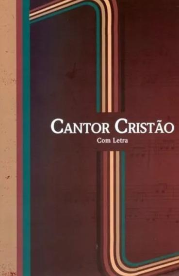 Kit 5 Hinários Cantor Cristão 14x21 - Brochura