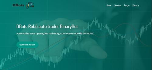 Sistema Fechado De Vendas Para Robôs Binary/deriv