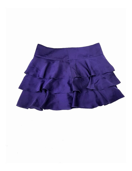 Ax Armani Exchange Mini Falda Mujer Mini Skirt Xs