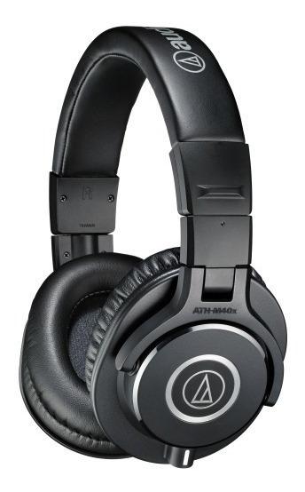 Audio Technica Ath M40x Fone Profissional Para Monitoramento