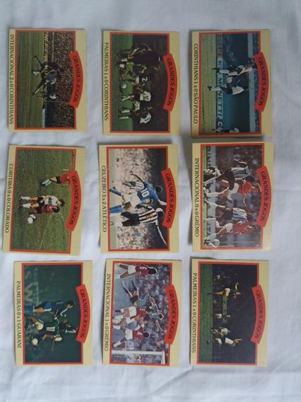 Lote De Futebol Cards Ping Pong - Grandes Jogos