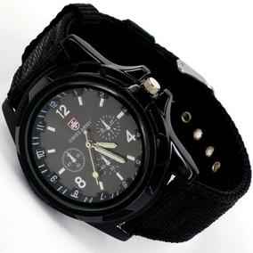 Relógio Masculino Swiss Army Azul, Preto E Verde