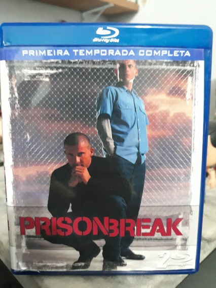 Blu-ray Série Prison Break 1º A 5º Temporada Mais O Filme