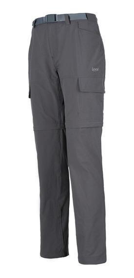 Pantalon Mujer Lippi Rampur Mix-2 Q-dry Pant Gris I19