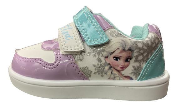 Zapato Tenis Para Niña Frozen Elsa Castillo