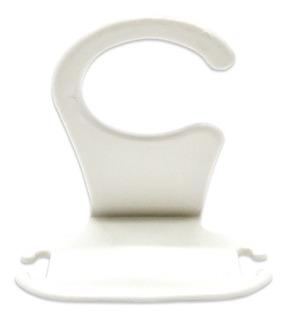 Clip Soporte Apoya Porta Celular Color Blanco Metaltru