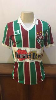 Camisa Fluminense Tricolor Penalty 1986 De Jogo N/14