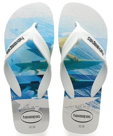 Chinelo Havaianas Surf Casual - 1010 Branco