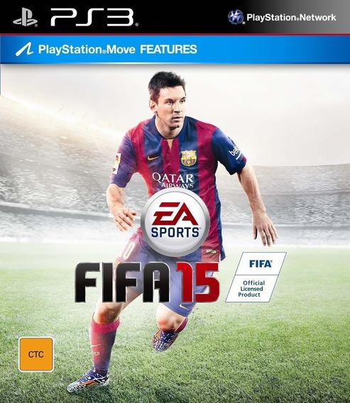 Fifa 15 Ps3 Original Envio Imediato Psn!