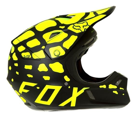 Capacete Fox - Grav Adult V3 - Moto Cross