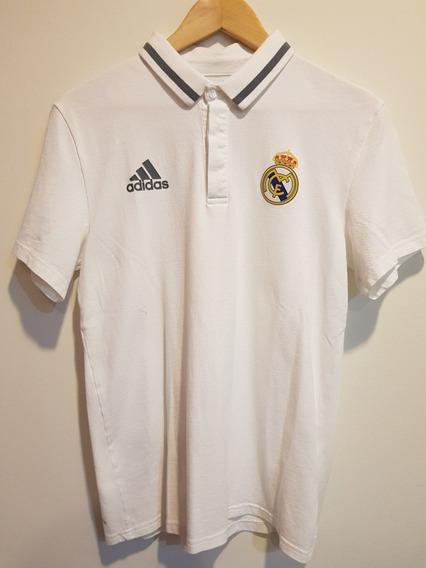 Playera Tipo Polo Real Madrid Original