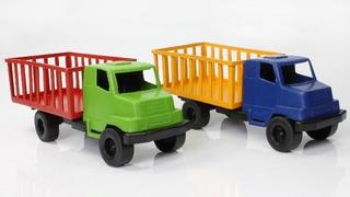 Kit 30 Caminhão Plástico Brinquedo Barato No Atacado