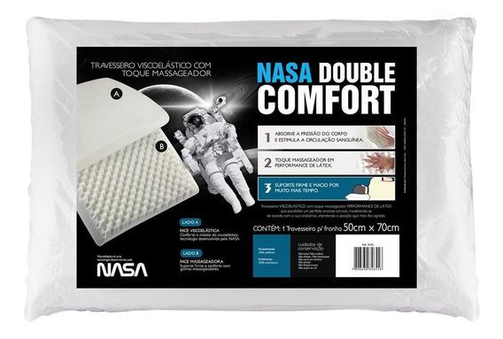 Travesseiro Fibrasca Nasa Double Comfort 3 50x70 - 4655
