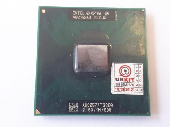 Processador Intel Celeron T3300 1m 2.00 Ghz Usado Slgjw