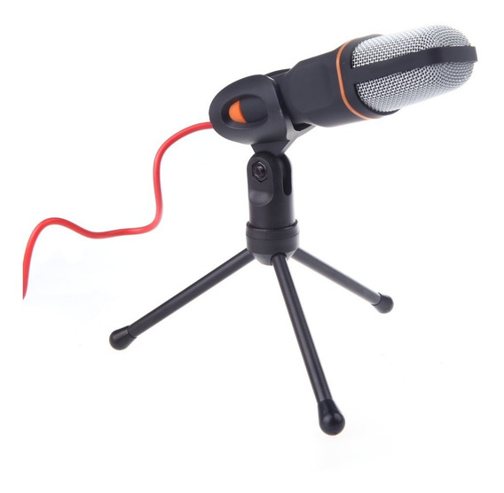 Microfone Condensador Com Fio Microfone Com Suporte Clip Par
