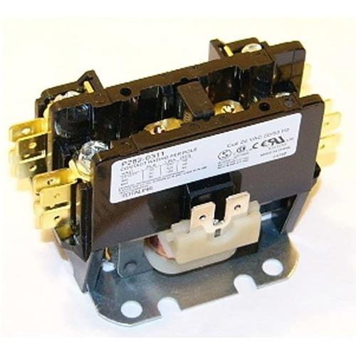 Imagen 1 de 5 de Lennox Single Pole 1 Pole 30 Amp Contactor De Condensador De