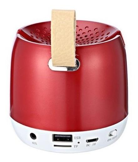 Caixa Som Portátil Bluetooth 5w Aux Microsd Usb Radio Fm 640