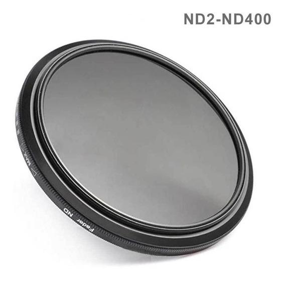 Filtro Fader Nd 55mm Densidade Neutra Nd2 Para Nd400