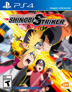 Naruto To Boruto Shinobi Striker / Juego Físico / Ps4