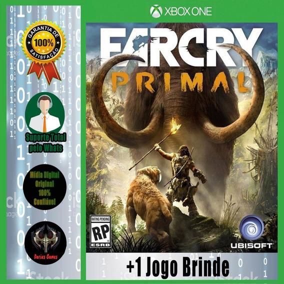 Far Cry Primal Xbox One Midia Digital +1 Jogo Brinde