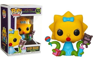 Funko Pop The Simpsons Treehouse Of Horror Alien Maggie 823