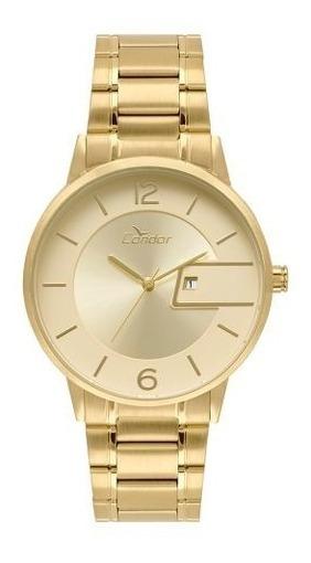 Relógio Feminino Condor Dourado Cogl10bv/4d