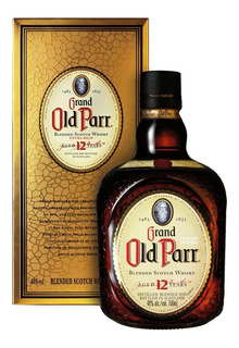 Whisky Old Parr 12 Años Con Estuche Envio Gratis Caba