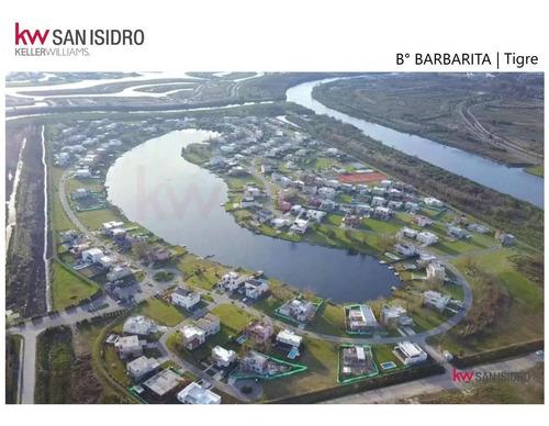 Lote   En Venta   Al Lago  Barrio Barbarita   Bancalari   Tigre