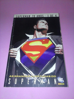 Hq Super Homem 70 Anos Numero 1 Encadernado Panini Dc Gibi