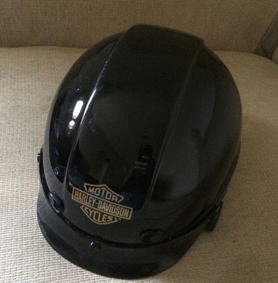 Capacete Aberto Harley Davidson Hd Original Entrada D Ar Ram