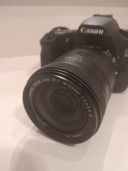 Canon 60d Corpo + Lente 18-135mm + Carregador + Bateria