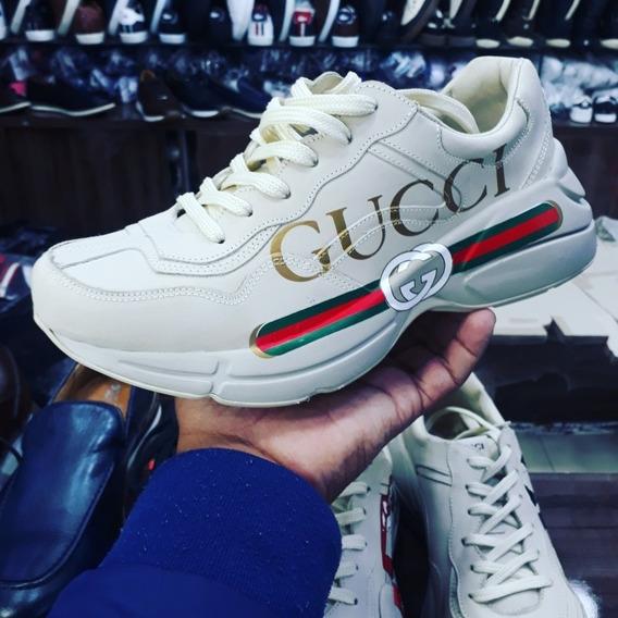 Tênis Gucci Feminino Lançamento Linha Premium Cod Guc-002