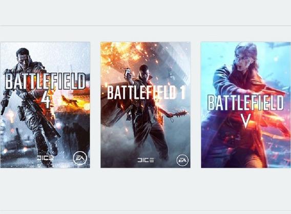 Battlefield 5 V Pt-br ( Online) + Bf1 + Bf4 - Origin Pc