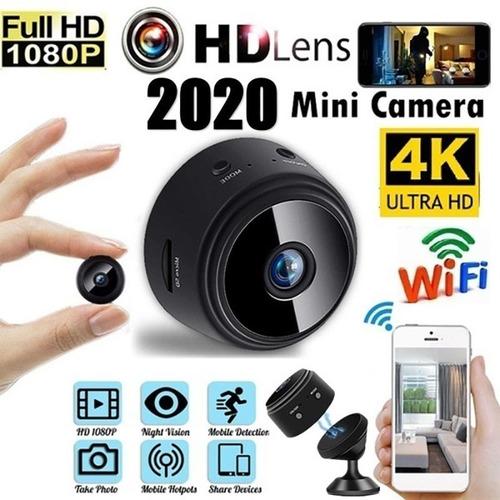 Cámara A9 Mini App Full Hd 1080p 4k Cam Ángulo Visión 150°