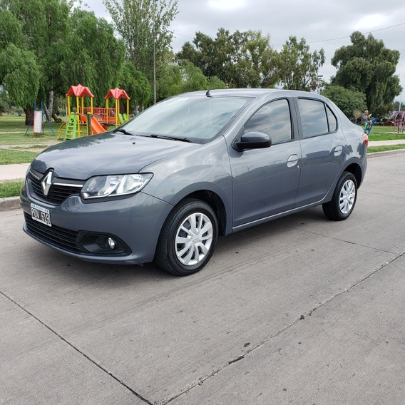 Renault Logan 2 Expression 2016 Impecable Permuto