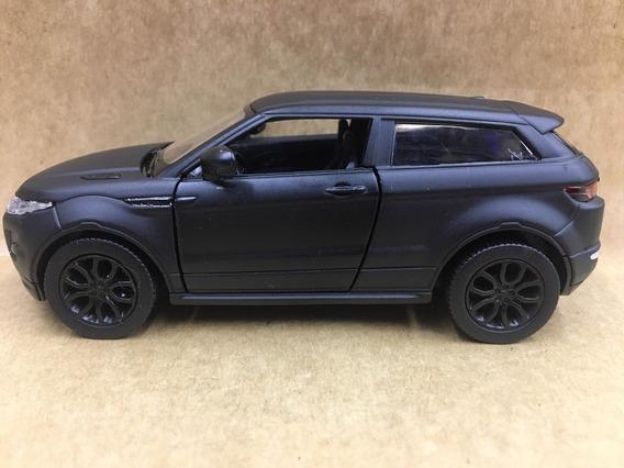Miniatura Range Rover Evoque Preto Fosco