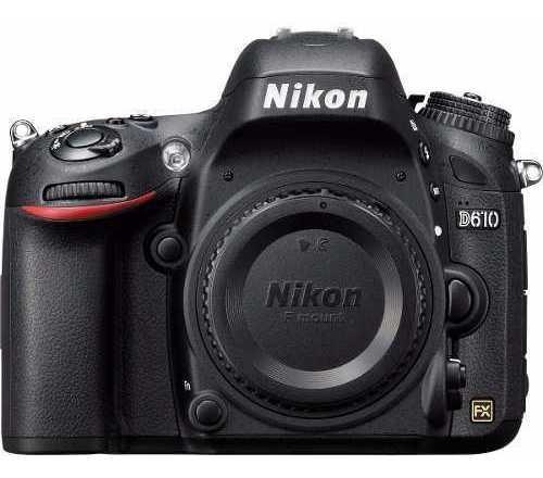 Câmera Profissional Nikon Dslr D610 Apenas O Corpo