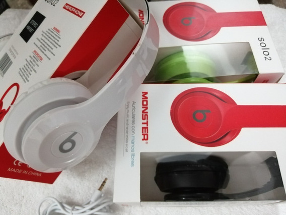 Audifonos Beats Solo 2 Monster Beats Cable Extraible, Tienda